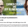 In concert with the great Carmen Cusack in NJ on May 20th!!