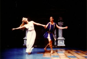 A Funny Thing... Forum - La Jolla Playhouse - 1990 (with Pamela Winslow)