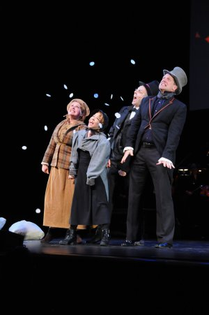 Mr. Magoo's Christmas Carol - The Gerald W. Lynch Theatre - 2014 (with Klea Blackhurst, Jennifer Cody, and Christopher Sieber)