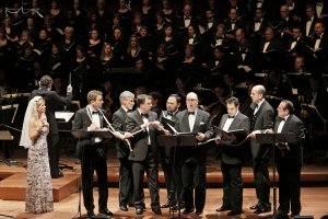 Knickerbocker Holiday - Alice Tully Hall - 2011 (with Kelli O'Hara, Ben Davis, David Garrison, Brooks Ashmanskas, Orville Mendoza, Brad Oscar, Steve Rosen, Michael McCormick, and The Collegiate Chorale)