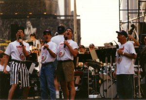 "Broadway in Times Square - 1994 - ""Heart"" from Damn Yankees with Scott Wise, Greg Jbara, and Dick Latessa"